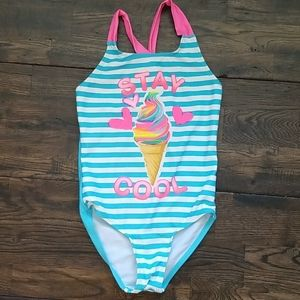 Girls Swimsuit Small Size 5-6